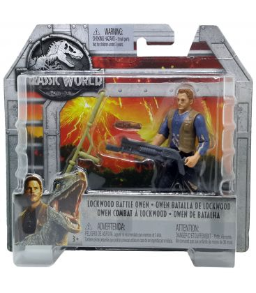 "Jurassic World - Lockwood Battle Owen - 3.75"" Action Figure"