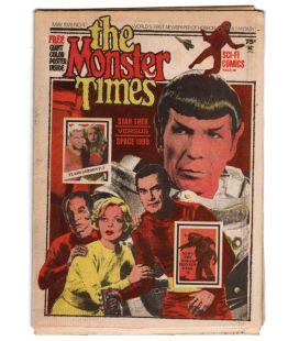 The Monster Times N°47 - Mai 1976 - Ancien journal américain avec Star Trek