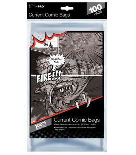 Sacs en plastique pour comic Current - Paquet de 100 - Ultra-Pro