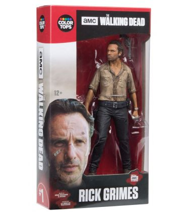 The Walking Dead - Rick Grimes - 7-inch Action Figure Color Tops 1