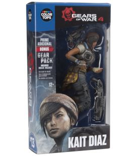 "Gears of War 4 - Kait Diaz - Figurine 7"" Color Tops 13"
