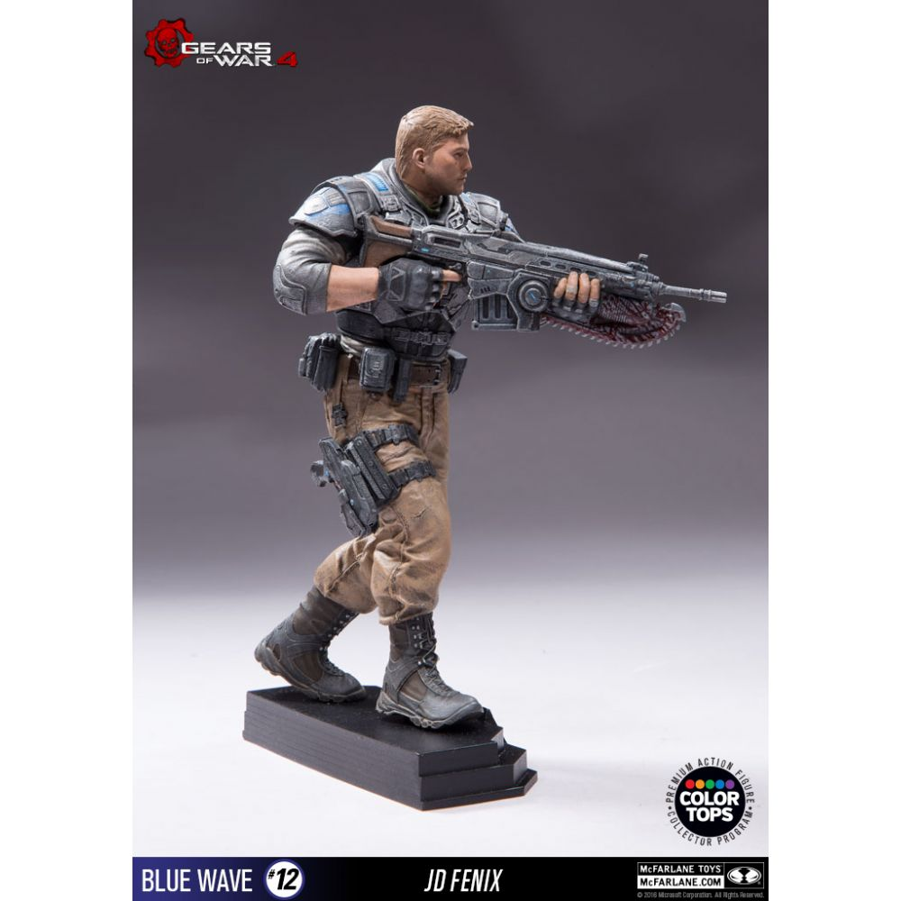 JD Fenix 18cm Color Tops Figur McFarlane Toys Gears of War 4