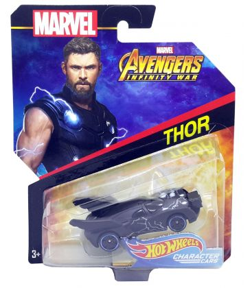 Avengers Infinity War - Thor - Hot Wheels Character Cars Diecast