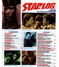 Starlog Magazine N°95 - Vintage June 1985 issue with Grace Jones in James Bond