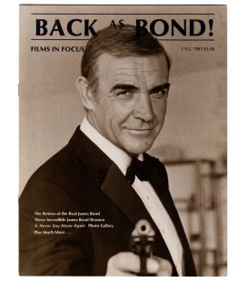 Films in Focus Magazine Vol.2 N°4 - Vintage Fall 1983 issue with Sean Connery as James Bond