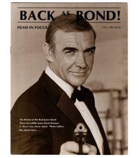 Films in Focus Vol.2 N°4 - Automne 1983 - Ancien magazine américain avec Sean Connery dans James Bond