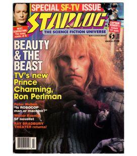 Starlog N°128 - Mars 1988 - Ancien magazine américain avec Ron Perlman