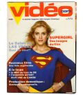 Videocom Magazine - Vintage March 1985 issue with Helen Slater in Supergirl