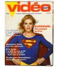 Videocom - Mars 1985 - Ancien magazine vidéo québécois avec Helen Slater dans Supergirl