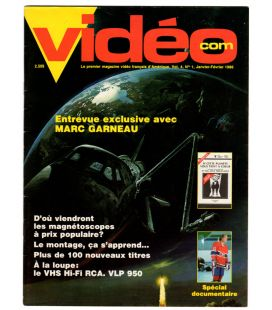 Videocom Magazine - Vintage January 1986 French Canadian issue