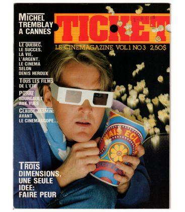 Ticket Magazine - June 1983 - Vintage French Canadian Magazine