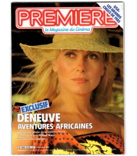 Premiere Magazine N°69 - Vintage December 1982 issue with Catherine Deneuve