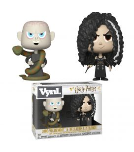 Harry Potter - Lord Voldemort et Bellatrix Lestrange - Ensemble de 2 figurines Funko Vynl