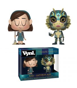 The Shape of Water - Elisa and Amphibian man - Set of 2 Funko Vynl figurines
