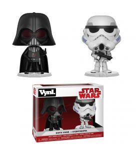 Star Wars - Darth Vader et Stormtrooper - Ensemble de 2 figurines Funko Vynl