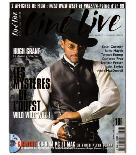 Ciné Live Magazine N°26 - July 1999 - French Magazine with Will Smith