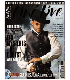 Ciné Live N°26 - Juillet 1999 - Magazine français avec Will Smith