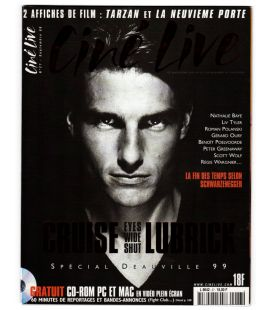 Ciné Live Magazine N°27 - September 1999 - French Magazine with Tom Cruise