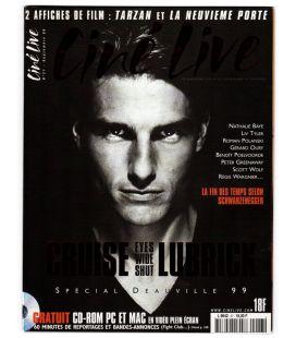 Ciné Live N°27 - Septembre 1999 - Magazine français avec Tom Cruise