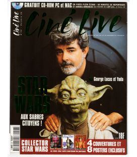 Ciné Live N°28 - Octobre 1999 - Magazine français avec George Lucas et Yoda