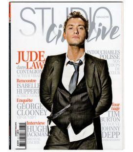 Studio Ciné Live N°31 - Novembre 2011 - Magazine français avec Jude Law