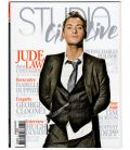 Studio Ciné Live Magazine N°31 - November 2011 issue with Jude Law