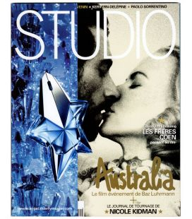 Studio Magazine N°252 - December 2008 issue with Hugh Jackman and Nicole Kidman