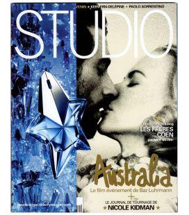 Studio N°252 - Décembre 2008 - Magazine français avec Hugh Jackman et Nicole Kidman