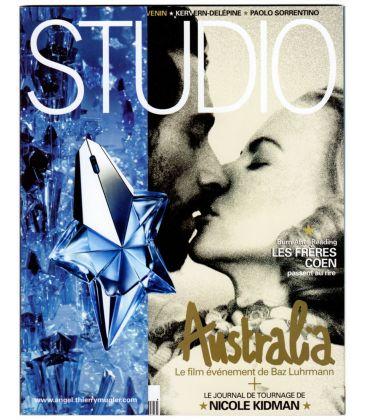 Studio Magazine N°252 - December 2008 issue with Hugh Jackman and Nicole Kidman