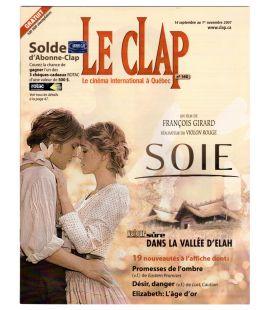 Le Clap - Septembre 2007 - Magazine Québécois avec Keira Knightley