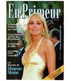En Primeur Magazine - March 2006 issue with Sharon Stone