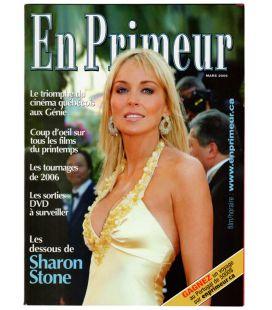 En Primeur - Mars 2006 - Magazine Québécois avec Sharon Stone