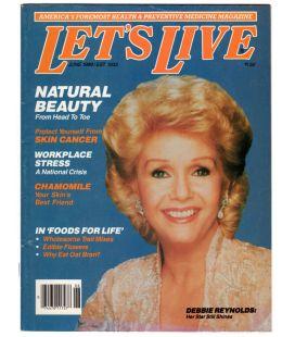 Let's Live - Juin 1989 - Ancien magazine américain avec Debbie Reynolds