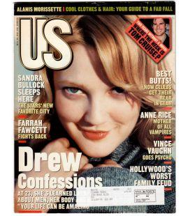 US Magazine N°250 - Novembre 1998 - Magazine américain avec Drew Barrymore
