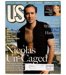 US Magazine N°247 - Août 1998 - Magazine américain avec Nicolas Cage