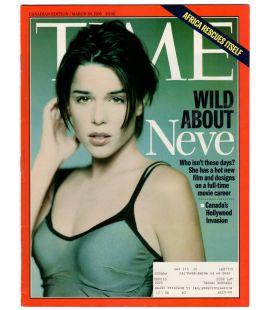 Time - 30 mars 1998 - Magazine canadien avec Neve Campbell