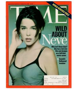 Time Magazine - March 30, 1998 - Canadian Magazine with Neve Campbell