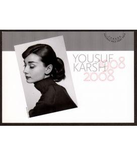 Audrey Hepburn - Postcard Postage Paid Canada 2008