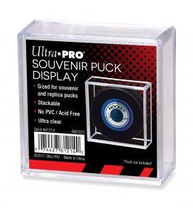 Boite en plastique carré pour rondelle de hockey - Ultra-Pro