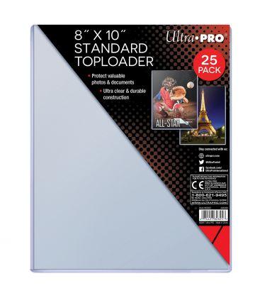 "8"" x 10"" Standard Toploader - Ultra Pro - 25 per pack"