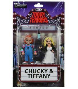 La Fiancée de Chucky - Chucky & Tiffany - Ensemble de 2 figurines Toony Terrors