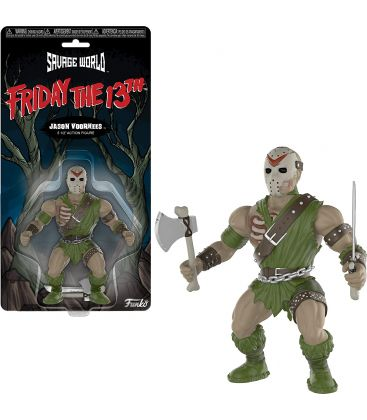 """Friday the 13th - Jason Voorhees - Savage World 5.5"""" Action Figure"""