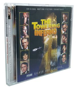 The Towering Inferno - Soundtrack by John Williams - Used CD