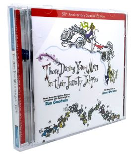 Those Daring Young Men in Their Jaunty Jalopies - Soundtrack by Ron Goodwin, 50th anniversary - Used CD