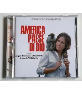 America Paese Di Dio - Soundtrack by Armando Trovajoli - Used CD