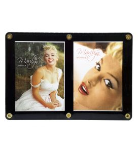 Marilyn Monroe - Shaw Family Archive - Cadre avec 2 cartes Promo