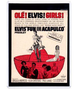 L'Idole d'Acapulco - Ancienne publicité originale de 1963