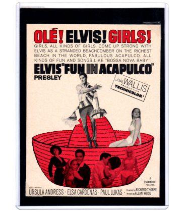Fun in Acapulco - Vintage 1963 Original Advertisement