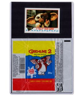 Gremlins 2 - Card with wrapper Gizmo