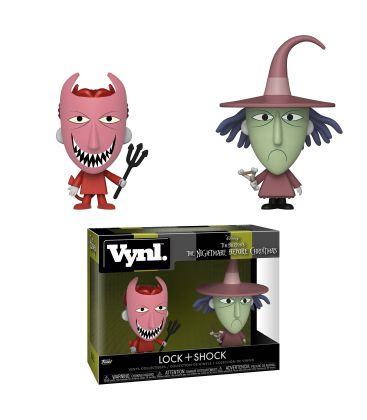The Nightmare before Christmas - Lock & Shock - Vynl boxset figures